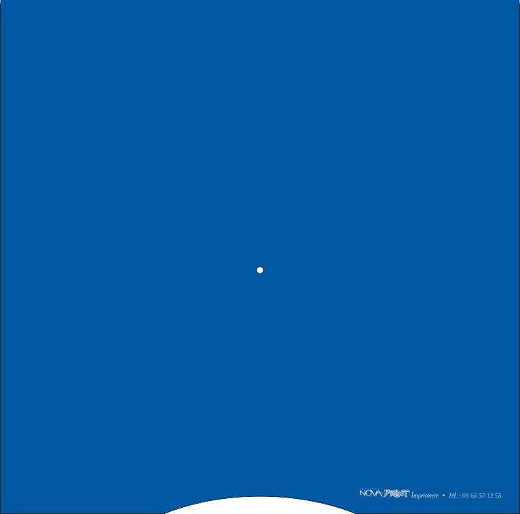 disque de stationnement verso bleu