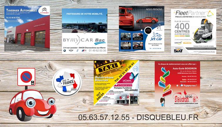 disques-de-stationnement-pour-automobile-garages-concessionnaires-loueurs-marques-auto-ecoles-taxi-pieces-auto
