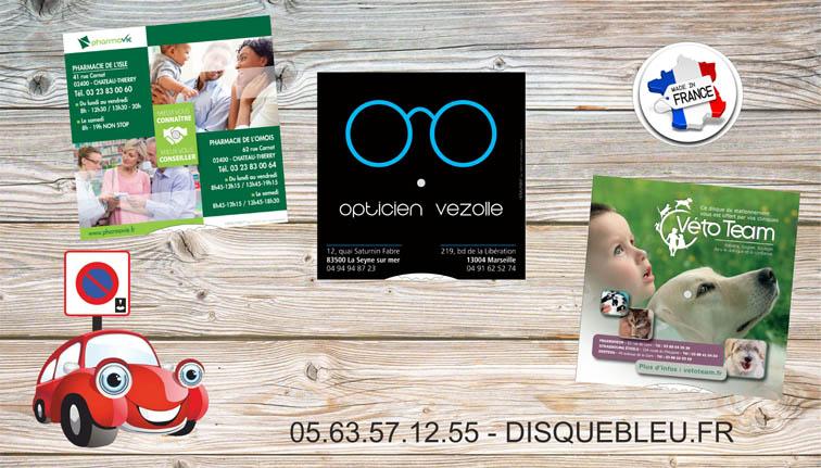 disques-de-stationnement-pour-pharmacie-opticien-veterinaire-cabinet-medical